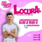 THE FEEL MUSIC »ANTONIO CG (LUNES-MIERCOLES-VIERNES) 16:00H A 18:00H